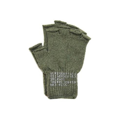 로스코(ROTHCO) [국내배송] FINGERLESS WOOL GLOVES(OLIVE DRAB)