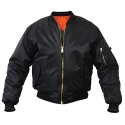 로스코(ROTHCO) [국내배송] MA-1 FLIGHT JACKET (BLACK)