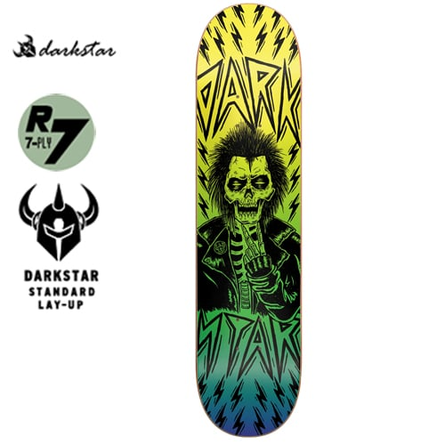 다크스타(DARKSTAR) [Darkstar] ELECTRIC YELLOW SL DECK 8.0
