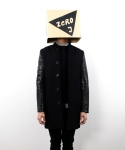 제로제이(ZEROJ) Stadium Coat Black