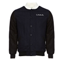 크룩스앤캐슬() CROOKS & CASTLES Mens Woven Jacket - Stadium Resist