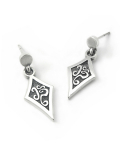 스털링워스(STERLINGWORTH) BT DIA STERLINGSILVER EARRING