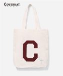 커버낫(COVERNAT) C LOGO ECO BAG BURGUNDY