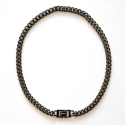 섹스토() [Handmade]Modern Chain Necklace X3 Black