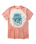 라이풀(LIFUL) TIE DYE SHAVE ICE TEE orange