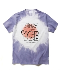 라이풀(LIFUL) TIE DYE SHAVE ICE TEE purple