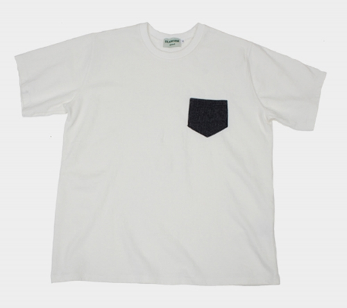 실크웜(SILKWORM) V1NTAGE POCKET T-SHIRT (OFF WHITE)