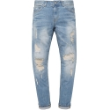 모디파이드(MODIFIED) M0580 9/10 length distressed jeans
