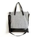 옐로우스톤() LEATHER COMBI CROSS BAG - YS2024GR /GRAY