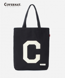 C LOGO ECO BAG BLACK