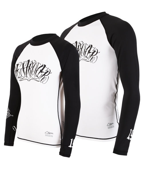 스티그마(STIGMA) DESTROYER RASH GUARD WHITE