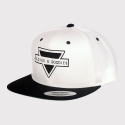 올디스앤구디스(OLDIES&GOODIES) OG TRIANGLE LOGO SNAPBACK(WHITE)