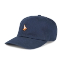 티엔피() TNP RUBBER CONE BALL CAP - NAVY