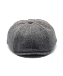 클로모르(CLOMOR) CLOMOR HARRIS TWEED NEWS BOY CAP GRAY