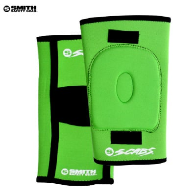 스미스(SMITH) [SMITH] SCABS KNEE GASKET HORSESHOE PADS (Green)