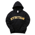 하이비션() Hybition Arc Logo Hoody Black