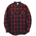 제이티앤씨오(JT&CO) BLOCK PLAID SHIRT (RED)
