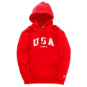 제이티앤씨오(JT&CO) USA PULLOVER HOODY (RED)