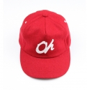 오하이오(OHHIOH) ohhioh Oh red leather strapback