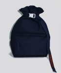 시그냅(SIGNAP) FLOW COATED CANVAS BUCKET BAG MIDNIGHT NAVY