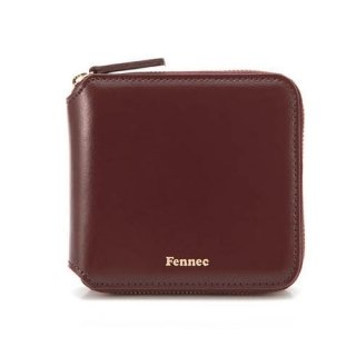 페넥(FENNEC) zipper wallet 007 wine