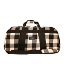 미시카(MISHKA) Cody Plaid Flannel Duffle Bag
