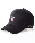 어반스터프(URBANSTOFF) USF WORLD WIDE 6P CAP USA BLACK