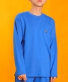 color logo long top - blue