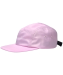 씨오엠이(COME) HONEY MOON EMBROIDERED NYLON CAP (LIGHT PINK)