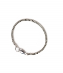 러쉬오프(RUSH OFF) [UNISEX]THE BASIC SILVER CHAIN BRACELET / 베이직 실버 체인 팔찌