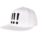 아잇(AIIIGHT) [Aiiight] Three Exclamation Snap Back White