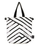 리블랭크(REBLANK) TYPO CROSS&SHOPPER BAG _ LINES