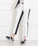 블락 스페이스(BLAK SPACE) BACK TWO COLOR PANTS
