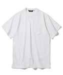 유니폼브릿지(UNIFORM BRIDGE) heavyweight pocket tee off white