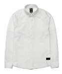 디시브() BIKERS LINEN WHITE SHIRT