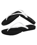 살바토스() Salvatos Foldable Flip Flop Black / Pearl White