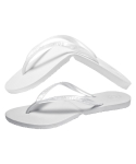 살바토스(SALVATOS) Salvatos Foldable Flip Flop Pearl White