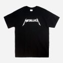 락아메리카(ROCK AMERICA) ROCK T SHIRTS (METALLICA BLACK)
