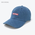 레이쿠() [레이쿠] reiku original box logo cap denim 볼캡