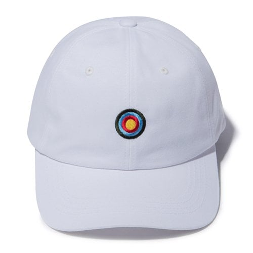 디얼스(THE EARTH) TARGET BALL CAP - WHITE