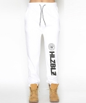 헬즈벨즈(HLZBLZ) WHO RUN THIS SWEAT JOGGER PANTS-WHITE