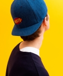 러브이즈트루(LUV IS TRUE) (UNISEX)JF HOTDOG CAP_BL