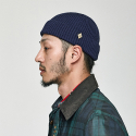 밀리어네어햇(MILLIONAIRE HATS) (cotton) watch cap [NAVY]