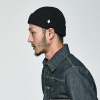 (cotton) watch cap [BLACK]