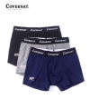 STANDARD DRAWERS 3 PACK (GRAY/NAVY/BLACK)