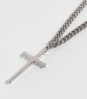 셉텐벌5() Big cross necklace