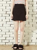 블랭크() PLEATS SKIRT-BK
