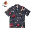 로버트제이씨 하와이(ROBERT J.C HAWAII) 250.845 Hawaii Shirts [Black]