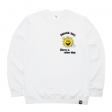 비쿨(BE COOL) THANK YOU Crewneck White