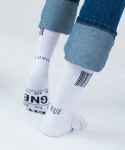 러브이즈트루(LUV IS TRUE) (UNISEX)AP GNB SOCKS_WH